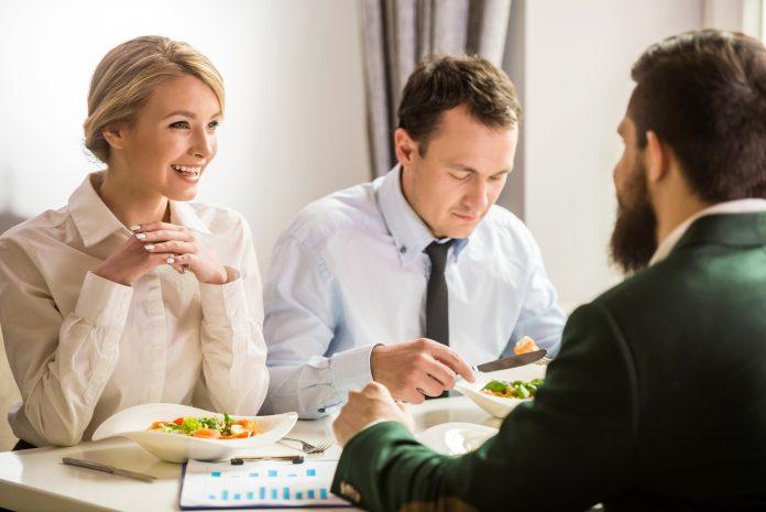 välsmakande lunch i Nacka